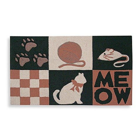 MeowCat & Toys 20-Inch x 32-Inch Brown Pet Mat