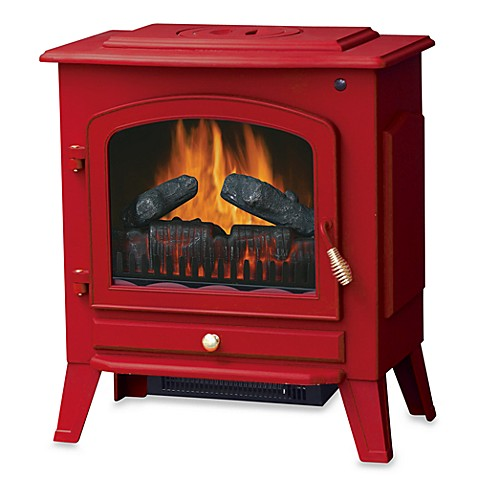 Stay Warm™ Electric Stove Heater - Red