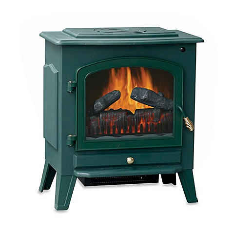 Stay Warm™ Electric Stove Heater - Green