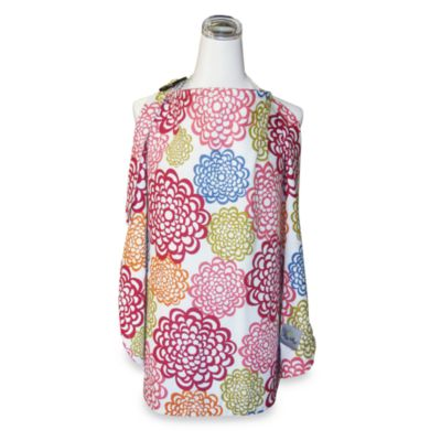 Itzy Ritzy™ Ritzy Nurser™ Fully-Lined Nursing Cover in Fresh Bloom & Baby Bamboo