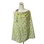 Itzy Ritzy™ Ritzy Nurser™ Fully-Lined Nursing Cover in Avocado Damask & Baby Bamboo