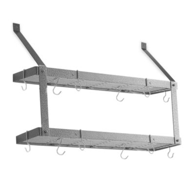 Rogar Double Bookshelf Pot Rack