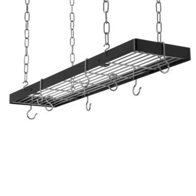 Hanging Rectangular Pot Rack
