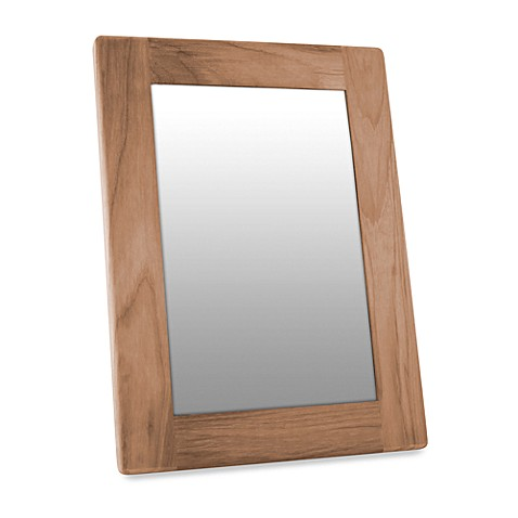 Waterbrands™ SeaTeak® Rectangular Teak Mirror