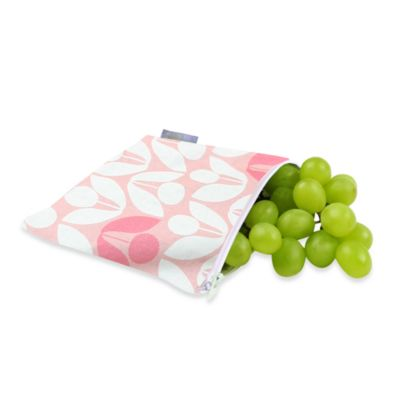 Itzy Ritzy™ Snack Happened™ Reusable & Washable Snack Bag in Modern Floral