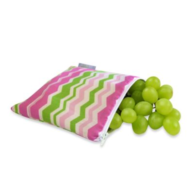 Itzy Ritzy™ Snack Happened™ Reusable & Washable Snack Bag in Little Miss Zig Zag