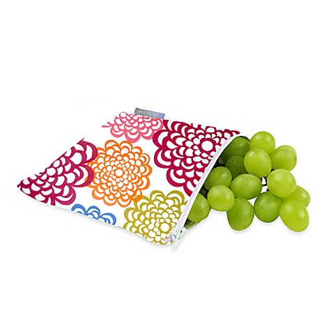 Itzy Ritzy® Snack Happens™ Reusable & Washable Snack Bag in Fresh Bloom