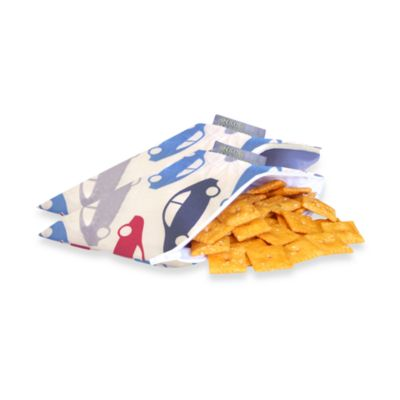 Itzy Ritzy™ Snack Happened Mini™ Mini Reusable & Washable Snack Bags in Rodeo Drive