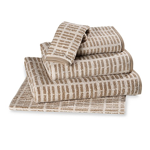 Loft™ by Loftex® Washcloth in Chalk/Taupe