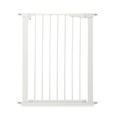 KidCo® Gateway Extra Tall and Wide Auto Close Pressure Mount Gate in White