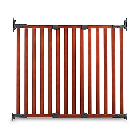 KidCo® Angle Mount Wood Safeway® Gate in Cherry