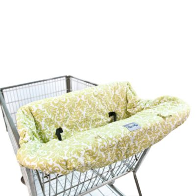 Itzy Ritzy™ Ritzy Sitzy™ Shopping Cart& High Chair Cover in Avocado Damask