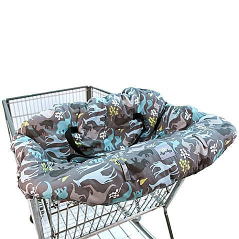 Itzy Ritzy™ Ritzy Sitzy™ Shopping Cart& High Chair Cover in Urban Jungle Blue