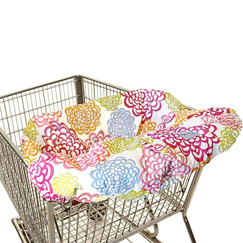 Itzy Ritzy® Ritzy Sitzy™ Shopping Cart & High Chair Cover in Fresh Bloom