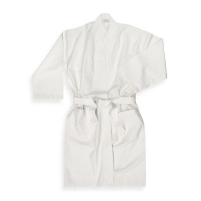 Ultra Spa Collection Baby Waffle Bath Bathrobe in White