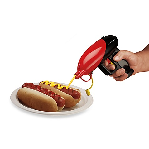 The Sharper Image® Condiment Gun