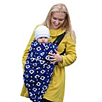 Cocoon Baby in c.® Baby Carrier Cover in Blue Diamond