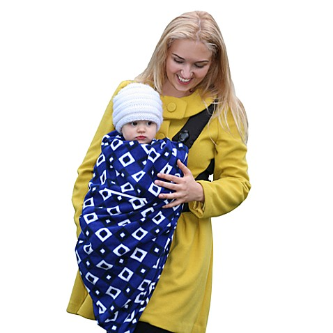 Cocoon Baby inc.® Baby Carrier Cover in Blue Diamond