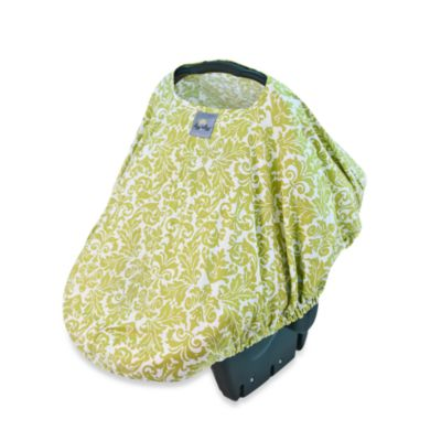 Itzy Ritzy® Peek-A-Boo Pod™ Infant Carrier Pod in Avocado Damask
