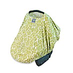 Itzy Ritzy Peek-A-Boo Pod™ Infant Carrier Pod in Avocado Damask