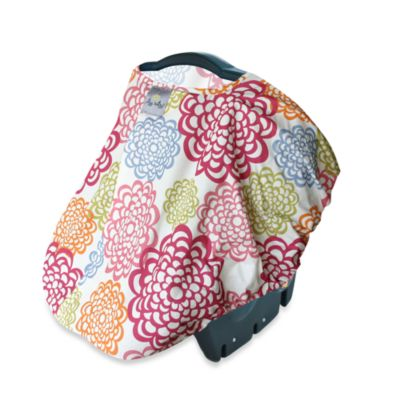 Itzy Ritzy Peek-A-Boo Pod™ Infant Carrier Pod in Fresh Blossom