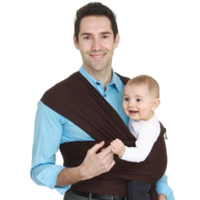 Moby® Wrap Baby Carrier in Chocolate