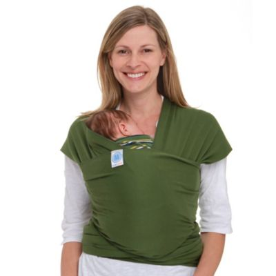 Baby Carriers > Moby® Wrap Baby Carrier in Leaf