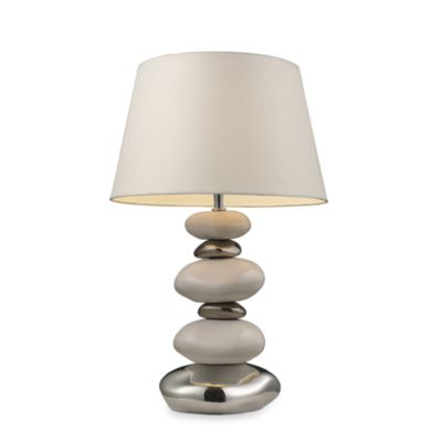 Dimond Lighting Elemis 23-Inch Pure White Table Lamp
