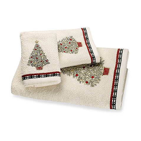 Around the Holidays Bath Towels, 100% Cotton