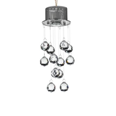 Gallery Modern Crystal 1-Light Fixture