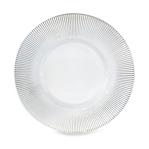 Charge It by Jay! 13-Inch Sunray Glass Charger Plate