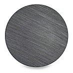 Charge It! by Jay 13-Inch Faux Wood Grey Charger Plates (Set of 4)