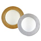 Charge It by Jay! Glitter Glass Charger Plates - Set of 4