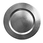 Charge It by Jay! Set of 8 Round Charger Plates in Silver
