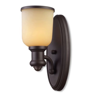 ELK Lighting Brooksdale 1-Light Sconce in Oiled Bronze