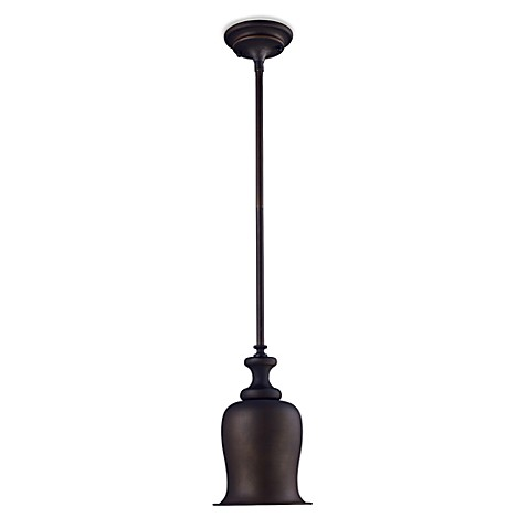 ELK Lighting Chadwick 1-Light Mini Pendant in Oiled Bronze