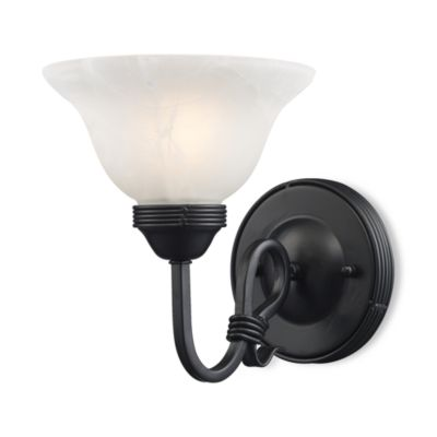 Elk Lighting Buckingham 1-Light Sconce in Matte Black