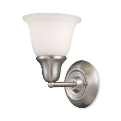 Elk Lighting Berwick 1-Light Sconce in Brushed Nickel