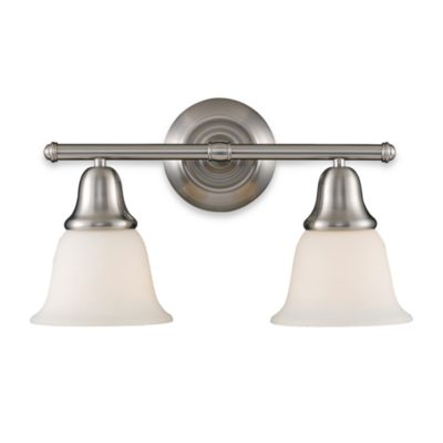 ELK Lighting Berwick 2-Light Vanity in Brushed Nickel