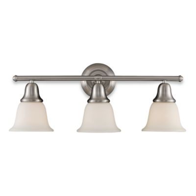 Elk Lighting Berwick 3-Light Vanity in Brushed Nickel