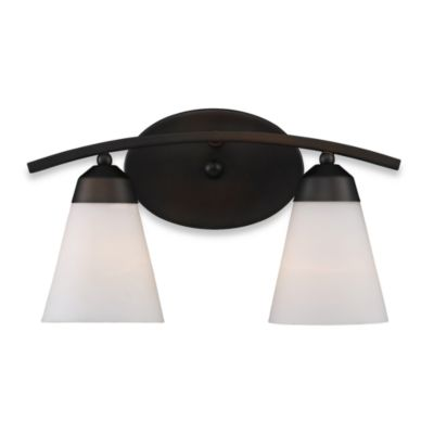 Elk Lighting Tempest 2-Light Vanity in Aged Bronze