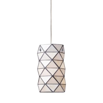 Elk Lighting Tetra 1-Light Pendant With Chrome Hardware