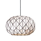 Elk Lighting Tetra 3-Light Chandelier in Polished Chrome