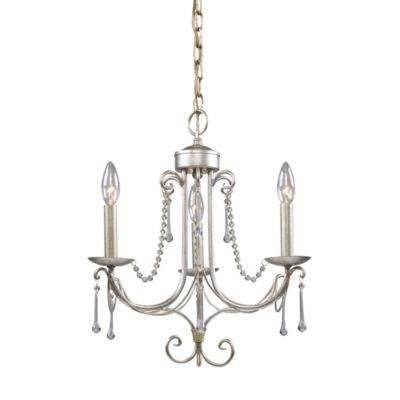 ELK Lighting Cambridge 3-Light Chandelier in Antique Silver
