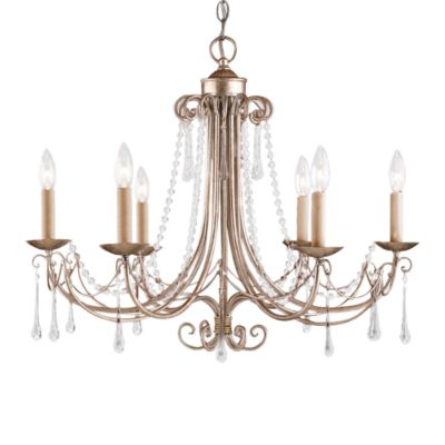 ELK Lighting Cambridge 6-Light Chandelier in Antique Silver