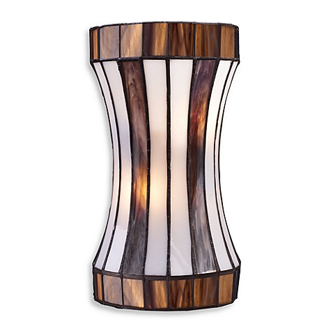Landmark Lighting Delgado 2-Light Sconce - Black Chrome