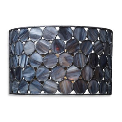 ELK Lighting Cirque 2-Light Sconce in Matte Black