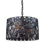 ELK Lighting Cirque 11-Inch 3-Light Pendant in Matte Black