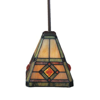ELK Lighting Corona 1-Light Mini Pendant in Classic Bronze