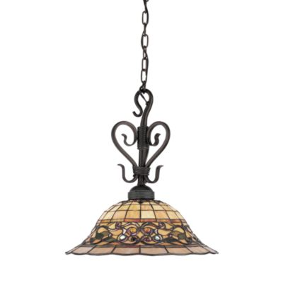 ELK Lighting Buckingham Tiffany 21-Inch 1-Light Pendant